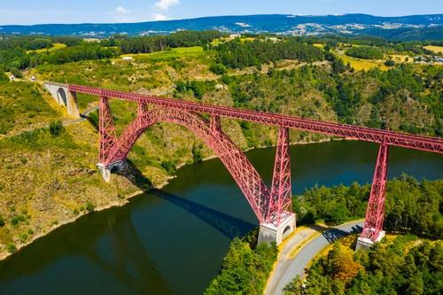 spoorbrug Viaduc de Garabit